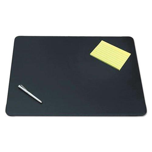 - ArtisticTM - Westfield Designer Desk Pad w/Decorative Stitching, 24 x 19, Black - Sold As 1 Each - Fine-Grain Leatherette Vinyl for unsurpassed Writing Surface.