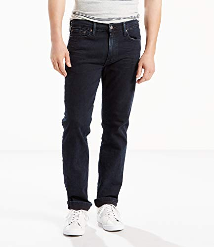 Levi's Men's 511 Slim Fit Jean, Black - Stretch, 32W x 30L