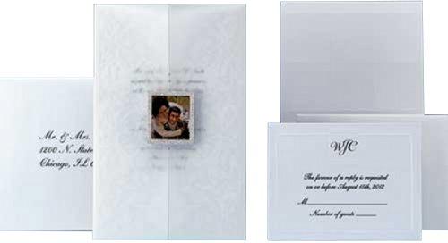 "WILTON ""Portrait Of Love"" Wedding Invitation Kit - 25-Count"