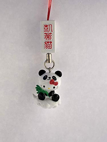 - Sanrio Hello Kitty Panda Mascot Figure Charm Strap - Panda Cosplay on Cloud