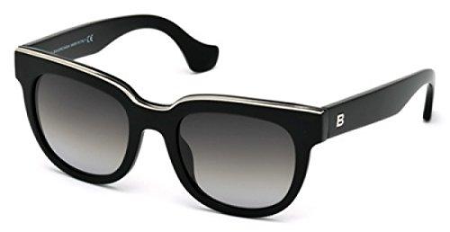 Balenciaga BA60 BA/60 Sunglasses BA0060 (01B-BLACK)