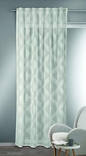 Albani Lena White – Sciarpa con passanti nascosti, 245 x 135 cm, Tessuto, bianco, 245x135cm