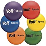 Voit Soft-Low Bounce Tuff Balls (8 1/4-Inch, Orange)