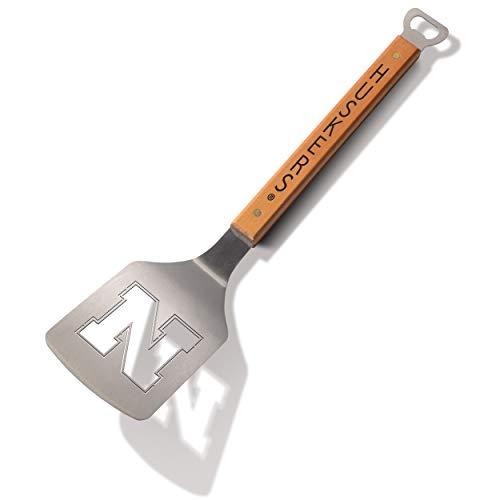 - NCAA Nebraska Cornhuskers Classic Series Sportula Stainless Steel Grilling Spatula