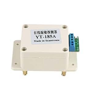 Sensor de inmersión en Agua de Alta sensibilidad Agua Líquido Desbordamiento Detector de Fugas Interruptor Sensor de señal Sonda para Sistema de Alarma: ...