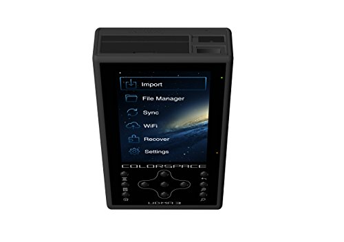 HyperDrive Colorspace UDMA3 500GB Portable Storage and Backup Device with Wi-Fi by HyperDrive (Image #1)