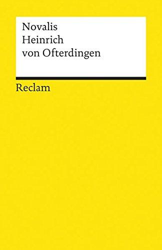 Heinrich Von Ofterdingen (German Edition)