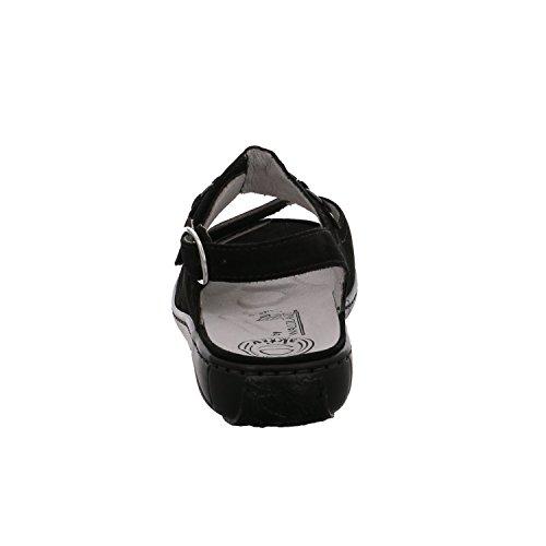 Sandales Pour Femmes Black Schwarz, (schwarz) 210004-191 001