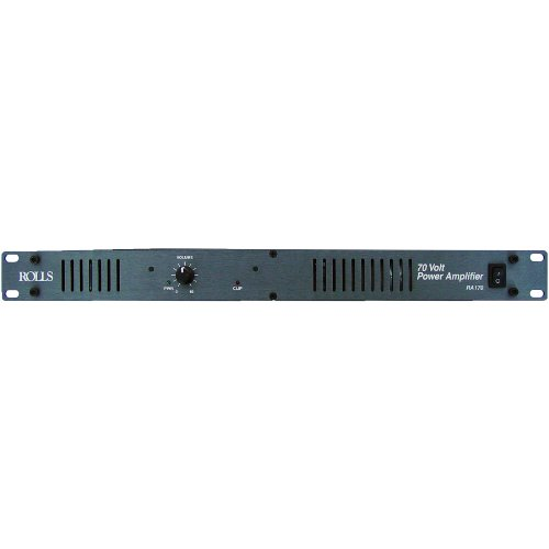 Rolls RA170 70-Volt/70 Watt Power Amplifier