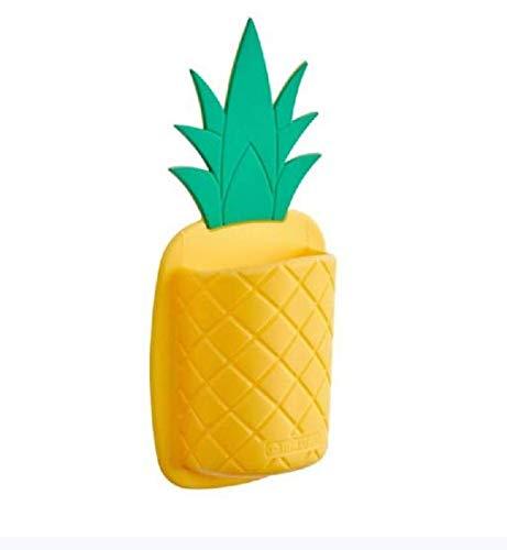Pen Holder Pineapple Shaped Silicone Toothbrush Holder Antibacterial Instant Stick! - Kitchen Utensil Holder