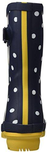 Blå Fnavspt Navy Kvinners fransk Mollywelly Gummistøvler Sted Joule qcw61vOtx