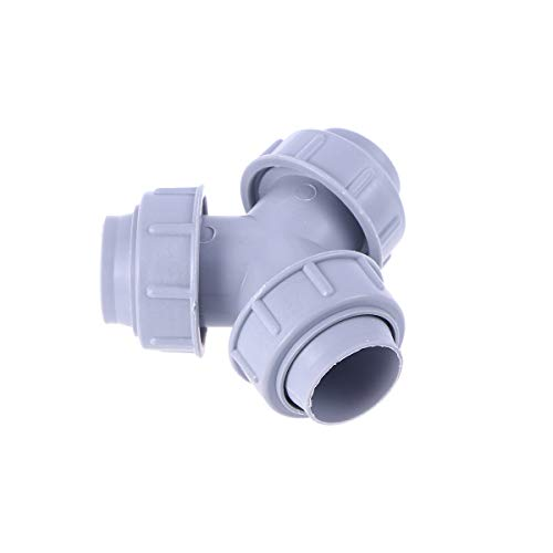 - Y Shaped Splitter Hose Connector Outlet for Washing Machine (Grey)