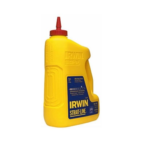 2.5 Blue Chalk Lb (IRWIN Tools STRAIT-LINE Standard Marking Chalk, 5-pound, Fluorescent Green (65106))