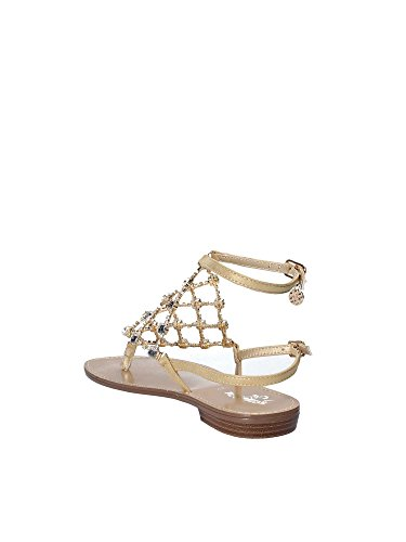 SL513 Donna GOLD GOLD Sandalo Infradito A18 Giallo amp; Yxwwrq1t