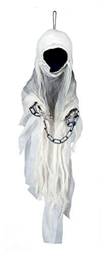 (Boland 74551– Phantom Faceless Ghost Decoration, 100 cm,)