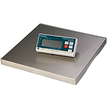 Taylor Precision Products TE30WD Digital Portion Control Scale With  Wireless Digital Display, 30 Lb.