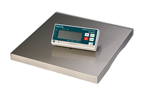Taylor-Precision-Products-TE30WD-Digital-Portion-Control-Scale-with-Wireless-Digital-Display-30-lb-1510-Height-1525-Width-30-Length