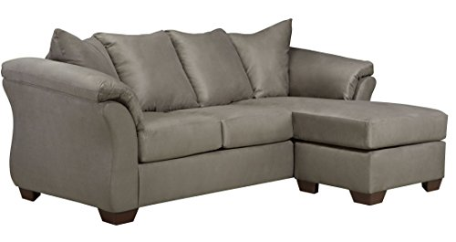Signature Design by Ashley Darcy Sofa Chaise in Microfiber,