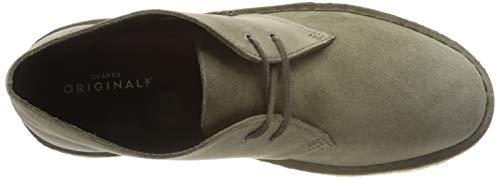 Olive Boot Suede Clarks Desert Originals Eu Suède olive Femme 37 qXqgUwx7