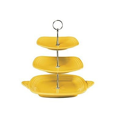 3 Tier Serving Stand Color: Sunflower