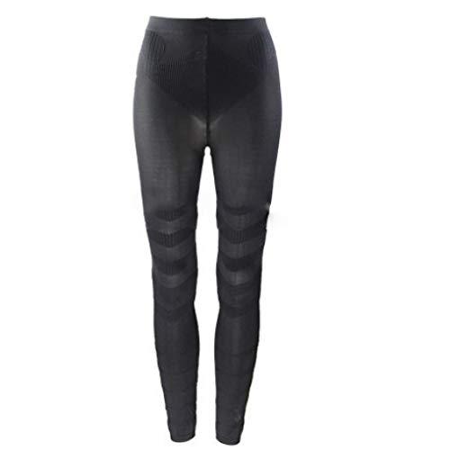 XOKIMI Women Leg Shaper Pants Butt Lifter Shapewear Thigh Slimmer Waist Sculpting Sleep Legging Socks Black Calorie Burning Shaping Leggings