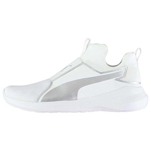 Puma Sneakers Blanc Rebel Femme blanc Wns Mid Basses rFrgA