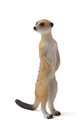 Stuffed Meerkat - Mojo Fun 387125 Meerkat - Realistic International Wildlife Toy Replica