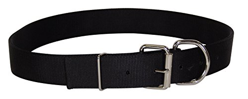 Hamilton Deluxe Double Thick Nylon Calf Collar, 1-3/4 by 36-Inch, Black