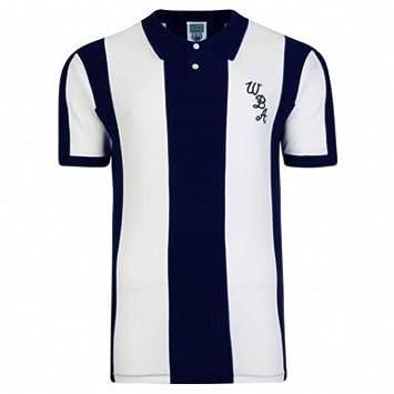 8b787a678 West Bromwich Albion 1978 Classic Retro Shirt  Amazon.co.uk  Sports    Outdoors