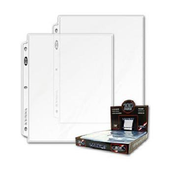 (BCW Pro 1-Pocket Pages (100 Ct. Box) - 100 Pages Per Box)