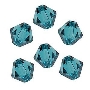 Swarovski 4mm Bicone Indicolite Crystal (50)