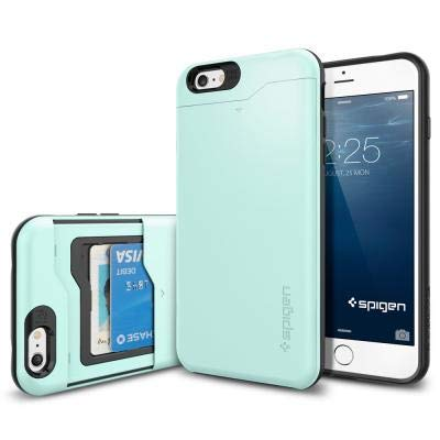 sneakers for cheap 19985 82861 Spigen Slim Armor CS iPhone 6S Plus Case / iPhone 6 Plus Case with Slim  Wallet Design and Card Slot Holder Case for Apple iPhone 6S Plus / iPhone 6  ...
