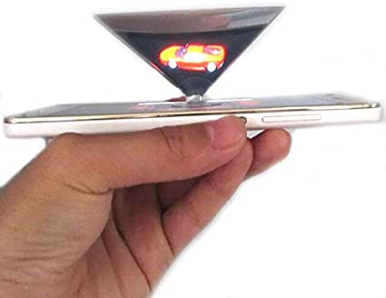 Amazon.com: Proyector holograma para smartphone apto para ...