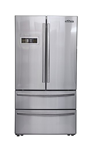 Thorkitchen HRF3601F Cabinet Depth French Door Refrigerator, Ice Maker, 36