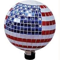 BCI Mosaic Glass Square Tile Gazing Globe