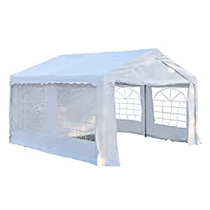 Outsunny 4m by 4m Portable Car Garage Shelter