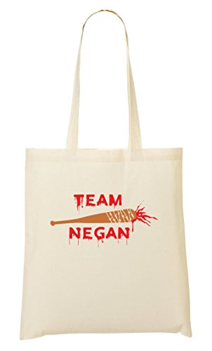 CP Team Negan Cool Bloody Baseball Bat Bolso De Mano Bolsa De La Compra