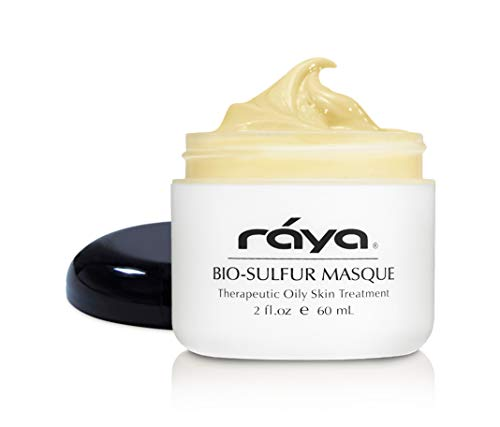 RAYA Bio-Sulfur Masque (708) | Deep Pore Cleansing Facial Treatment Mask for Oily, Problem, and Break-Out Skin | Made with Vitamin-B and Bio Sulfur to Control Oiliness