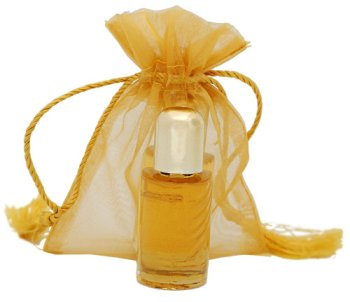 Single Attar w/Sheer Pouch - Pearl Musk