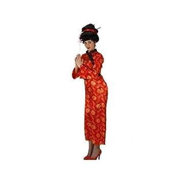 Desconocido Disfraz de china para mujer: Amazon.es: Juguetes ...