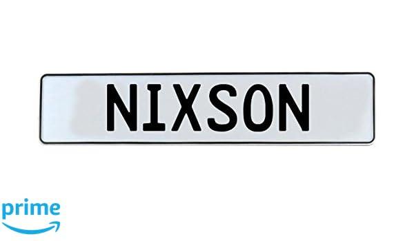Nixson White Stamped Aluminum Street Sign Mancave Vintage Parts 716757 Wall Art