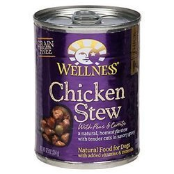 WELLNESS DOG FOOD STW CHCKN P&CRRT CAN, 12.5 OZ by Wellness Natural Pet Food by Wellness Natural Pet Food