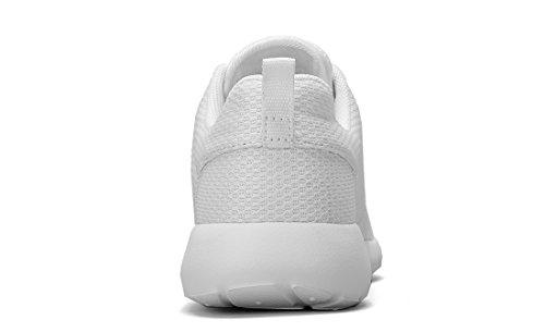 para al Zapatos Malla Aire Zapatillas Trail Calzado CROWN Blanco Correr Ligero Caminar de de Transpirables Deportivo Tennis Libre Cómodas para CAMEL Mujeres yqIUByP