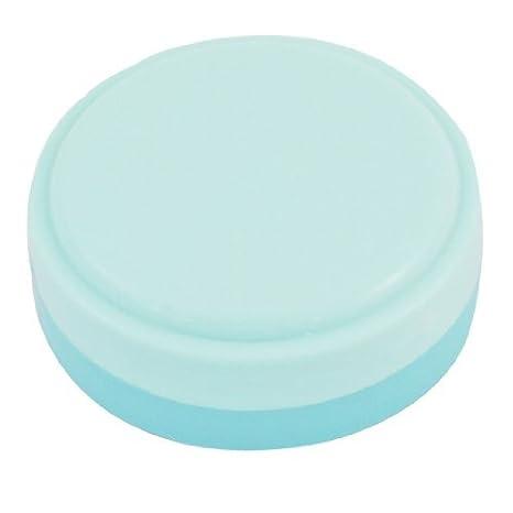 Amazon.com: Plastic Pill 3 Compartimento Cápsulas Organizer Caso Box Cyan: Health & Personal Care