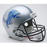 Detroit Lions Riddell Full Size Deluxe Replica Football Helmet