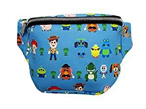 Loungefly Toy Story Character Print Faux Leather F Standard, blue