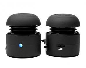 Chill Pill Mobile Speakers - Black (1/CHI1125)