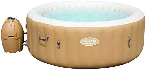 BESTWAY 54129 - Spa Hinchable Lay-Z-Spa Palm Springs Para 4-6 personas Redondo: Amazon.es: Jardín