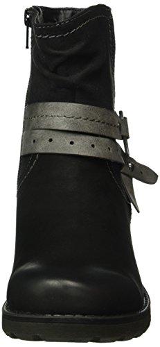 Jana 25417, Botines Para Mujer Negro (Black 001)