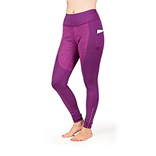 Skirt Sports Women's Toasty Tights, Medium, Grape Frost